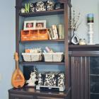 Around the House: A Brighter Bookshelf