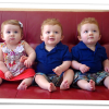 Triplet Tuesday: Emilia, William, and Jackson