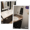 Around the House: Guest Bath Counter Makeover