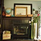 Around the House: I finally have a mantel!