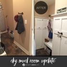 Twin Tuesday: A DIY Board and Batten Mud Room Update