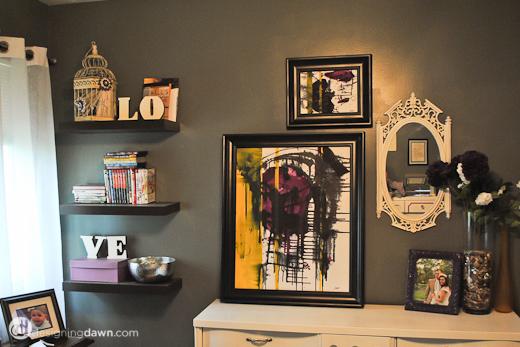 . Designing Dawn   Projects  Bedroom Artwork Update   Designing Dawn