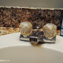 Around the House: A bathroom faucet