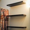 Around the House: Bathroom Shelving