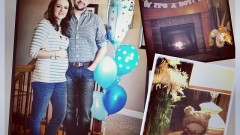 Dania & Chad - It's a boy!
