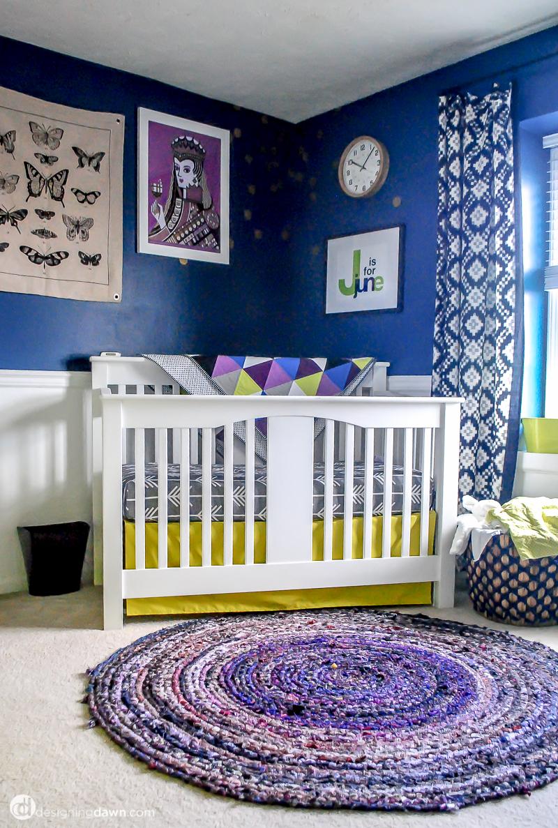 Designing Dawn - Juniper's Bold & Bright Nursery