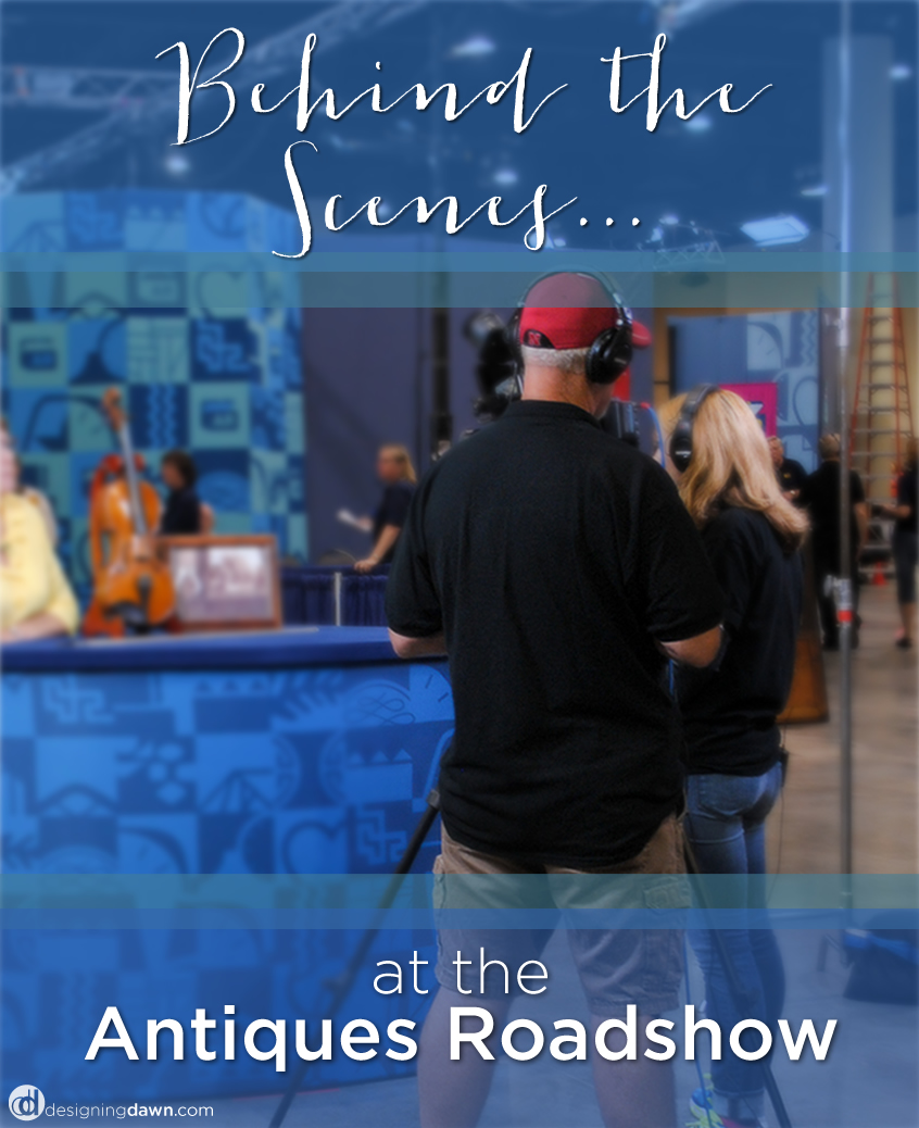 Designing Dawn at the Antiques Roadshow - Behind the Scenes